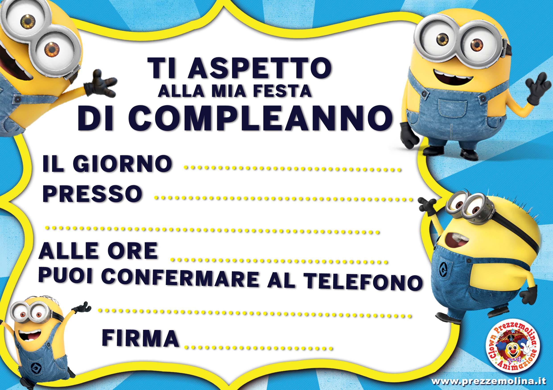 spesso Biglietti invito www.prezzemolina.it WK29