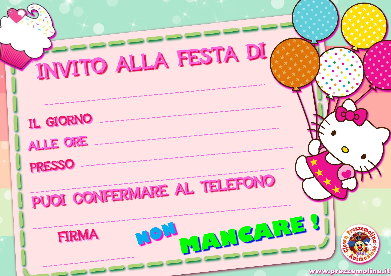 spesso Biglietti invito www.prezzemolina.it YC64