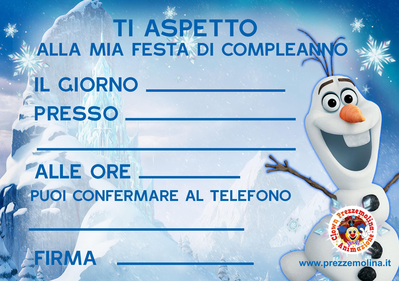Fabuleux Biglietti invito www.prezzemolina.it FO31